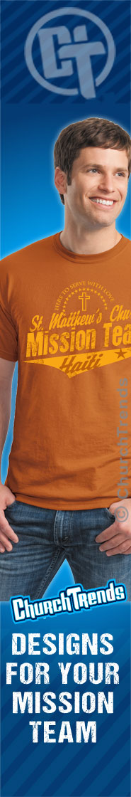 T-Shirts with Mission Trip Themes & Logos, Mission Trip T-Shirts customized
