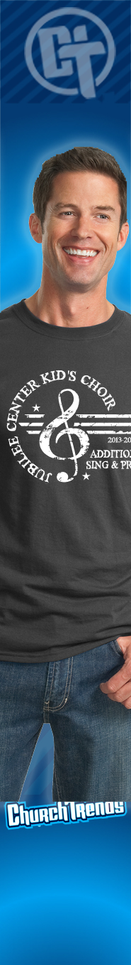 T-Shirts for music ministries, choir T-Shirts, music ministry hoodies